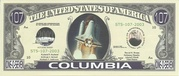 107 Dollars (Space Shuttle Columbia) -  avers