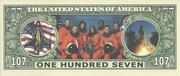 107 Dollars (Space Shuttle Columbia) -  revers
