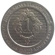 1 Dollar - Silver Legacy (Reno, Nevada) – revers