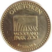 1 Token - Woodland Park Zoo Historic Carousel (Seattle, Washington) – avers