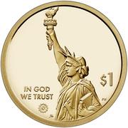 1 Dollar (American Innovation - North Carolina ) -  avers