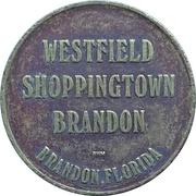 Admit 1 - Westfield Shoppingtown Carousel (Brandon, Florida) – avers