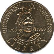 ½  dollar Congrès -  avers