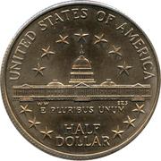 ½  dollar Congrès -  revers