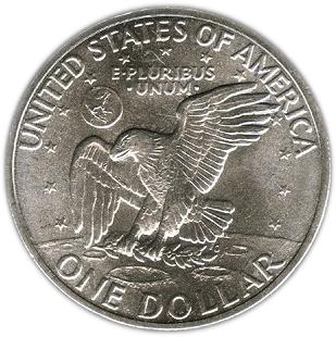 1 Dollar Quot Eisenhower Dollar Quot Argent 201 Tats Unis Numista