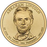 1 Dollar (Abraham Lincoln) -  avers