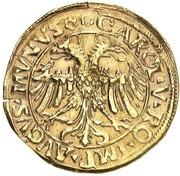 1 goldgulden Anton I (Fugger) – revers