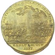 Medal - Battle of Hanau – revers