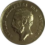 1 Ducat - Crown Prince Albert (Victory Gold Medal) – avers