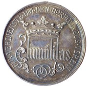Charles Borromeo - Medal – revers