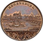 Medaille exposition industrielle a Ratisbonne – avers