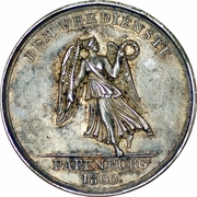 Medaille de mérite compagnie d´assurance maritime (I. Assecuranz Compagnie Papenburg) – revers