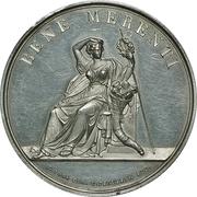 Medal of merit maritime insurance company (Emdener Assecuranzcompanie) – avers