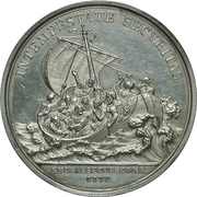 Medal of merit maritime insurance company (Emdener Assecuranzcompanie) – revers
