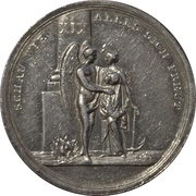 Médaille de calendrier 19ème – avers