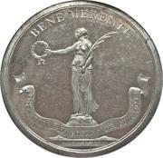 Medal of merit maritime insurance company Emdener Assecuranzcompanie – avers
