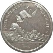 Medal of merit maritime insurance company Emdener Assecuranzcompanie – revers