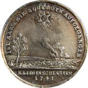 Médaille - Guerre en Silésie – revers