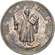 300 years celebration of the reformation (Brandenburg-Prussia) – revers
