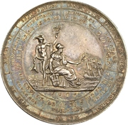 Calendar medal (Hamburg) – avers