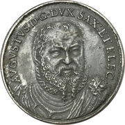 Medal - Formula of concord (August of Saxony) – avers