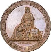 Medal - Industrial exhibition in Berlin – avers