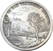 Medal - Return of the two prices from England to Saxe-Gotha-Altenburg – revers