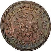 Medal - Hommage to the new emperor Joseph I. (Esslingen) – avers