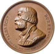 Medal - Albrecht Dürer (Berlin; 300 years of death) – avers