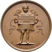 Medal - Albrecht Dürer (Berlin; 300 years of death) – revers