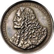 Medal - Erection of the Albrecht Dürer memorial in Nürnberg – avers