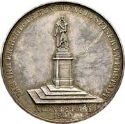 Medal - Erection of the Albrecht Dürer memorial in Nürnberg – revers
