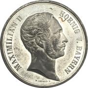 Medal - Maximilian II. (Ministery von der Pfordten) – avers