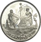 Medal - Maximilian II. (Ministery von der Pfordten) – revers