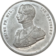 Medal - Wedding of Friedrich Wilhelm and Queen Victoria – avers