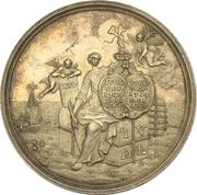 Medal - Silver wedding of Johann von der Leyen with Katharina Goyen (Krefeld) – avers