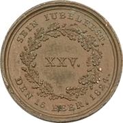 Médaille - 25th anniversary of reign - Maximilian I. Joseph of Bavaria – revers