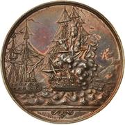 Medal - Naval Battle of Eckernförde (Bronze issue) – avers