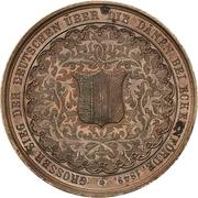Medal - Naval Battle of Eckernförde (Bronze issue) – revers