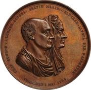 Medal - Conrad von Blücher-Altona (Golden wedding) – avers