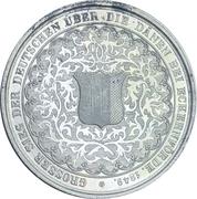 Médaille - Bataille d'Eckernförde (Argent) – revers