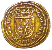 Rechenpfennig (Caroline of Ansbach) – revers