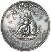 Medal - 1000 year celebration of the city of Hamburg – avers