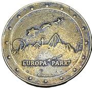 Jeton souvenir - Piraten in batavia - Europe Park – revers