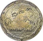 Jeton souvenir - Voltarium - Europe Park – revers