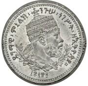 ½ werk - Menelik II (Essai) – avers