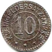 10 pfennig - Ettenheim – revers