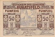 50 Heller (Euratsfeld) -  avers
