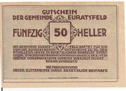 50 Heller (Euratsfeld) -  revers
