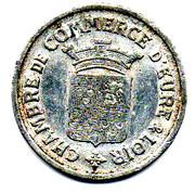 25 centimes - Chambre de Commerce - Eure et Loir [28] -  avers